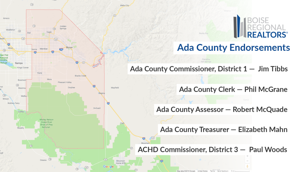 Ada County Endorsements