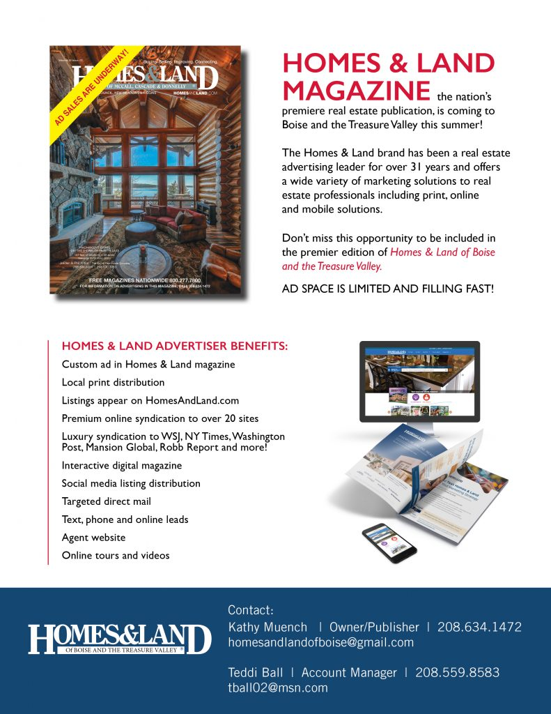 New Homes and Land of Boise and the Treasure Valley Magazine