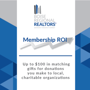 Membership ROI Graphic- Matching Gifts